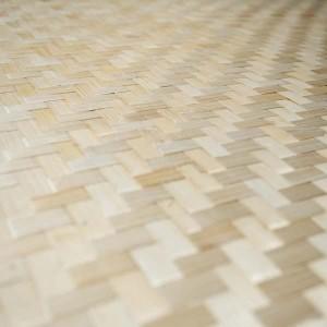FEUILLE DE BAMBOU TRESSE FIN 1.2 x 2.4